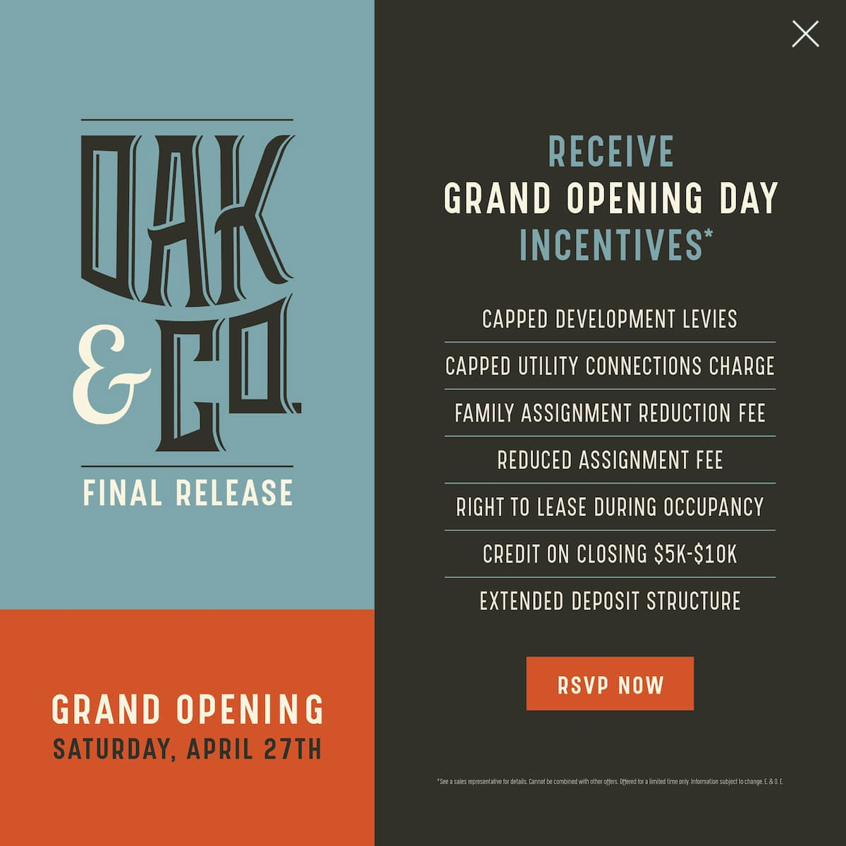Oak & Co Tower 3 Coming Soon