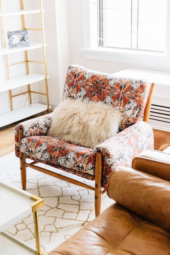Bold Patterns U2013 There Is A Resurgence Of Bold Floral Patterns In Décor And  Furniture Fabrics. This Daring Feminine Trend Is Influenced By A Boho Trend  ...